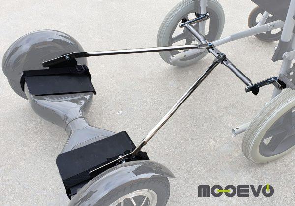 adaptador hoveboard silla de ruedas
