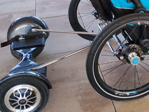 adaptador hoverboard para carro thule chariot aidwheels mooevo