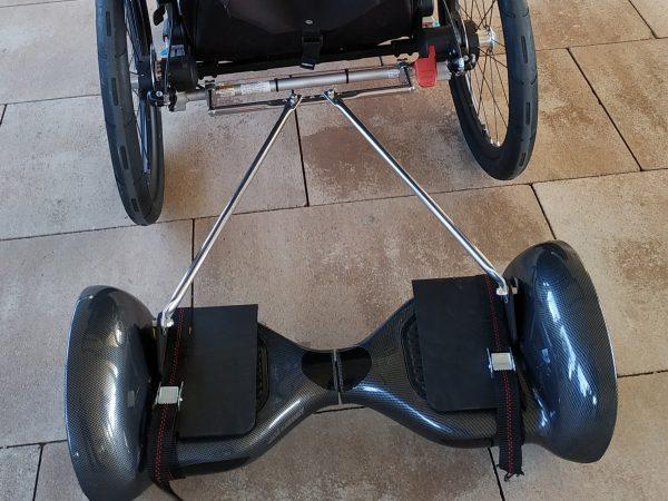 adaptador hoverboard para carro thules chariot aidwheels mooevo