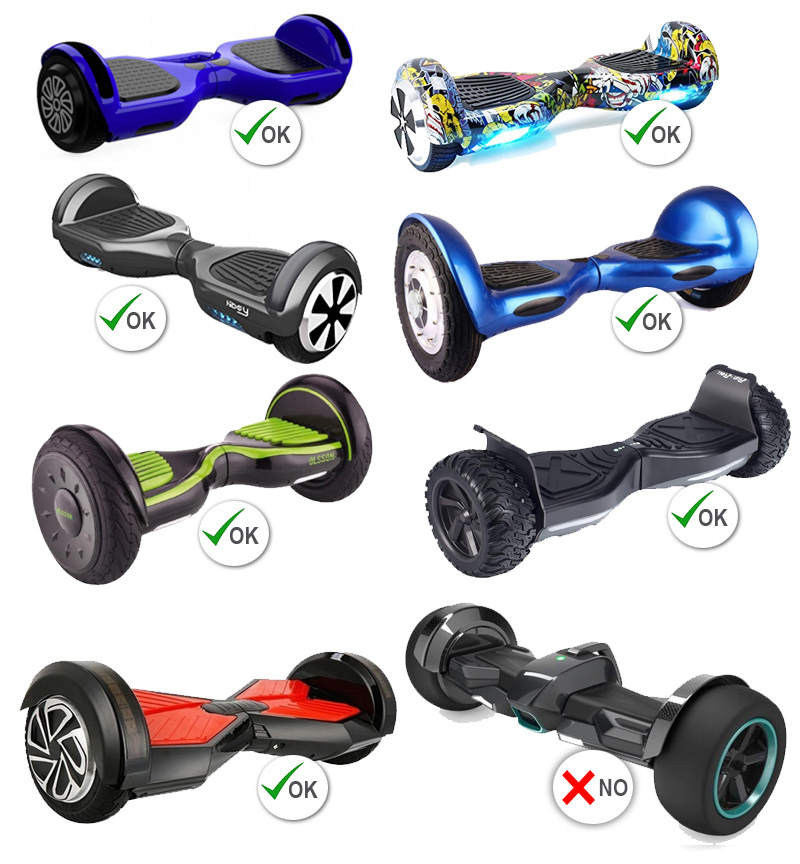 hoverboards compatibles