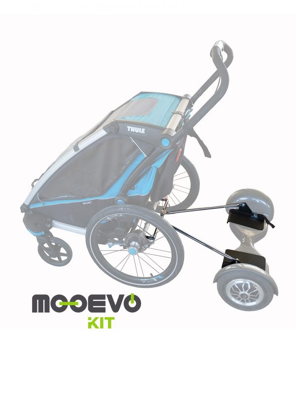 adaptar hoverboard thule chariot
