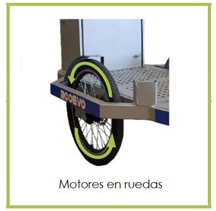 mooevo limpieza urbana carro electrico motorizado