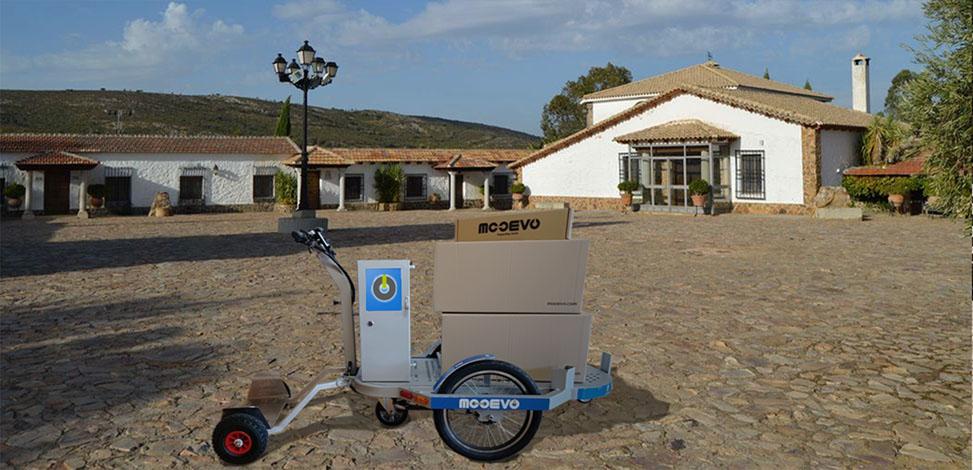Carro electrico para el campo