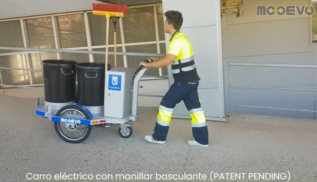 carrito barrendero electrico madrid