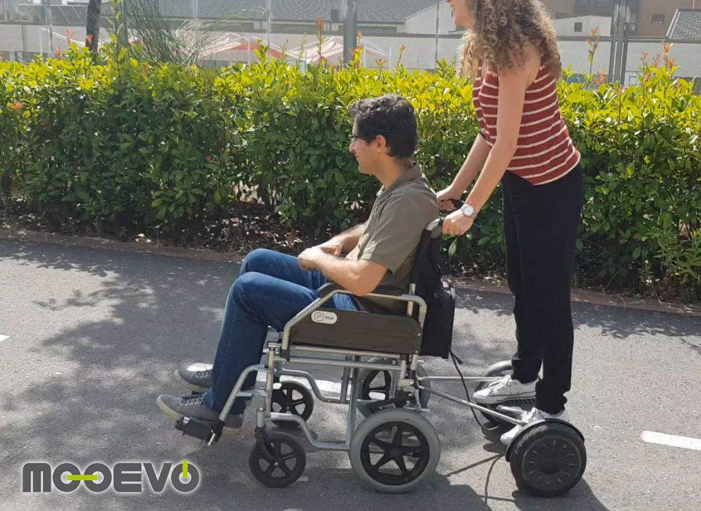 carro para hoverboard movilidad asistida