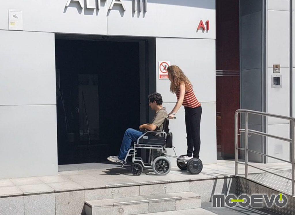 movilidad electrica urbana ruedas para hospitales