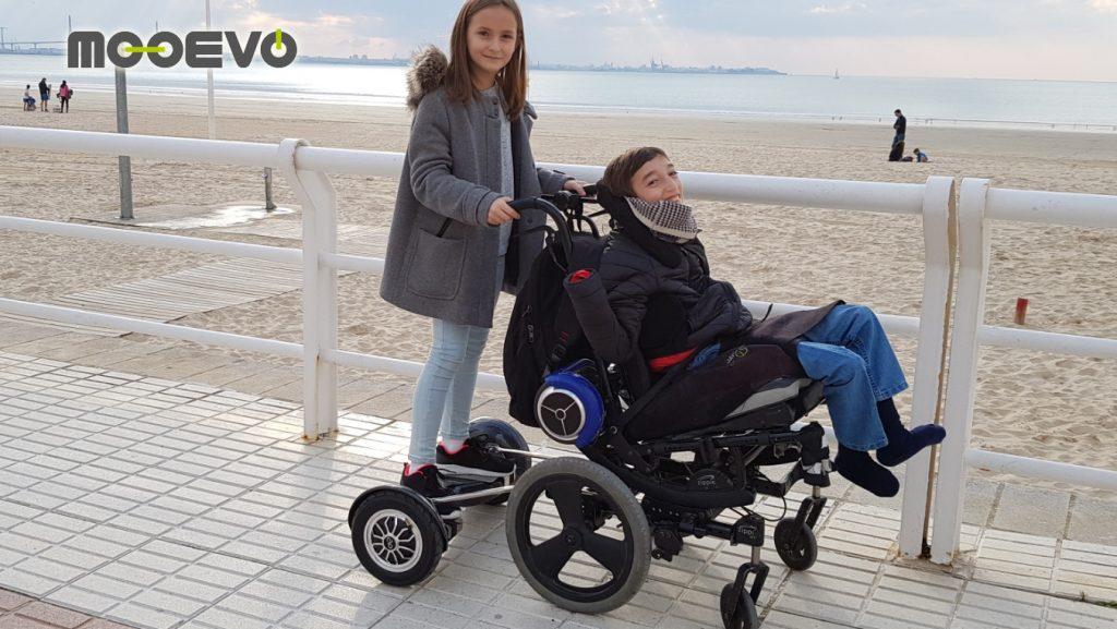 plataforma silla de ruedas