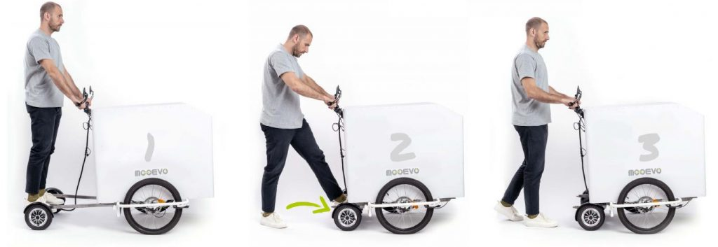 electric cargo delivery
