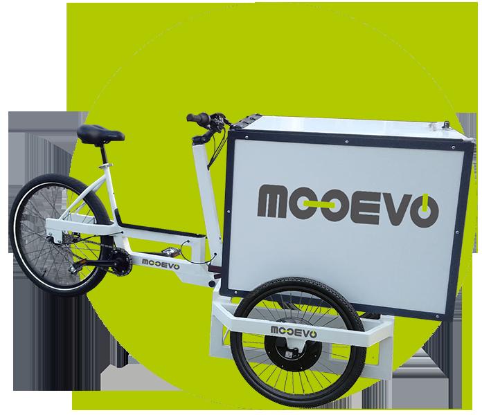 cargo bike manillar basculante mooevo